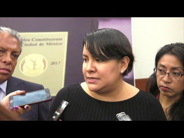 Entrevista Dra  Perla Gómez Gallardo Foro Por la defensa de laConstitución Política de la CDMX