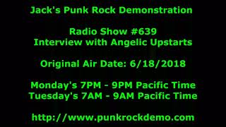 Interview with Angelic Upstarts on Jack's Punk Rock Demonstration Radio Show #639