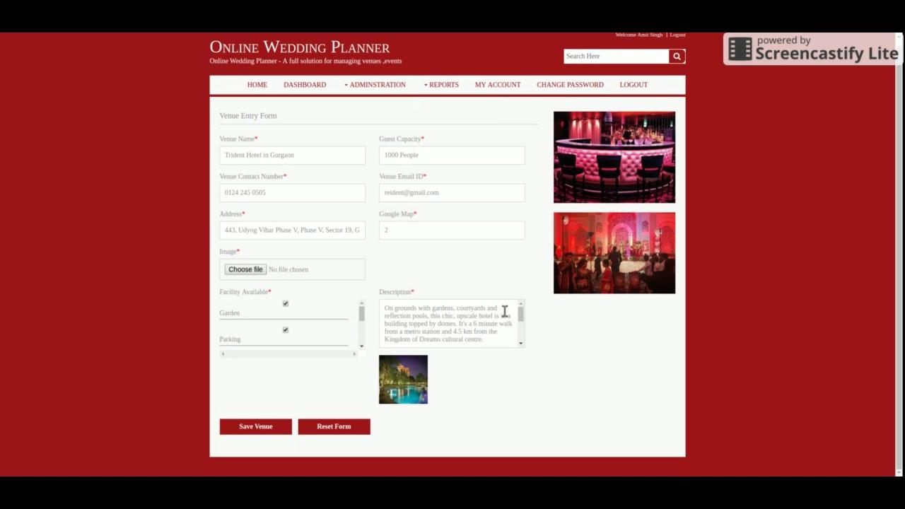 Online Wedding Planner YouTube