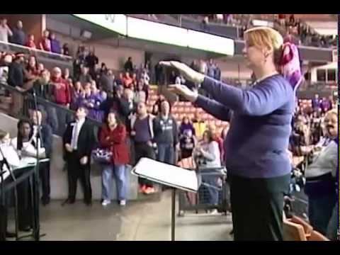 Ayer Shirley Regional Middle School Band and Chorus - Canadian Anthem - November 15, 2014