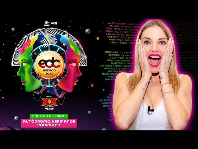 REACCIONANDO LINEUP EDC MEXICO 2020 | MAJO MONTEMAYOR