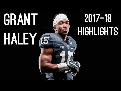 Grant Haley Senior Season ( 2017-18 ) Highlights ᴴᴰ || Penn State CB #15