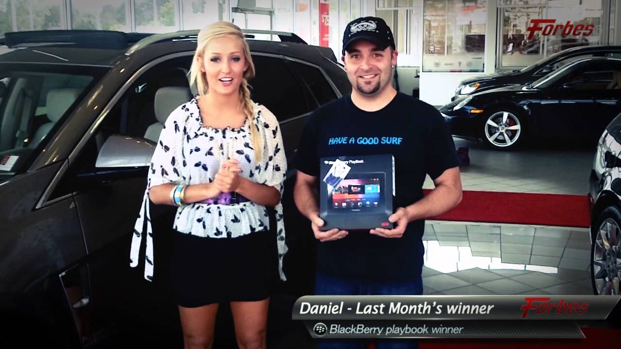 Video for Chantal McCulligh- SMM of Forbes Motors Canada