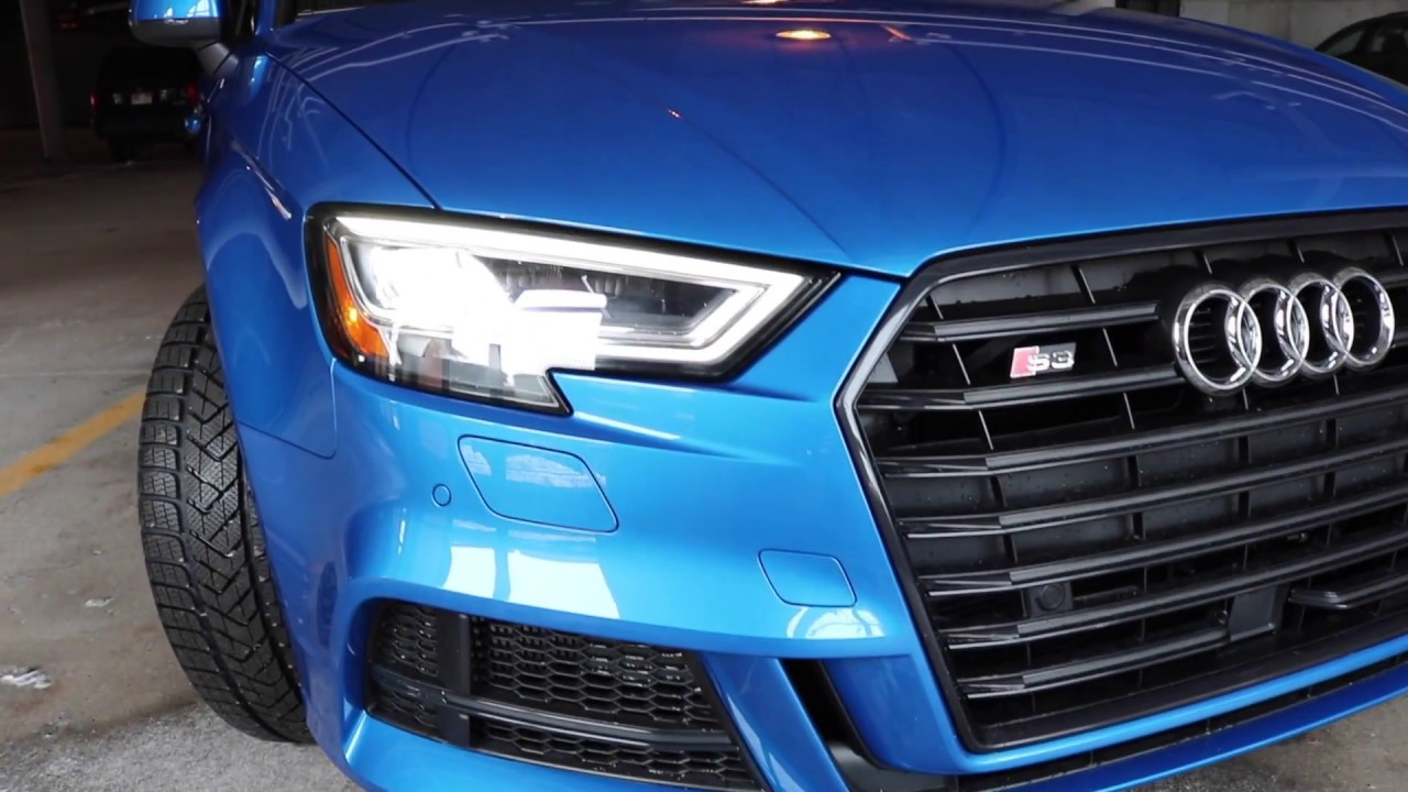 2017 Audi S3 Ara Blue Youtube