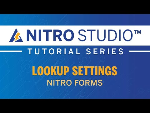 NITRO Studio™ Tutorial