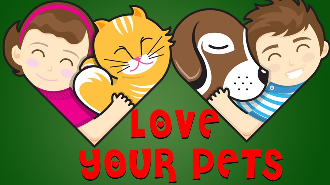 Love Your Pets - Animated Short Stories For Kids In English