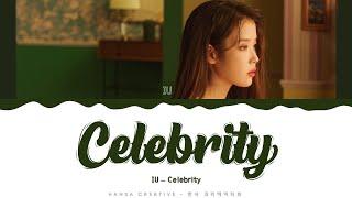 IU - 'Celebrity' Lyrics Color Coded (Han/Rom/Eng)