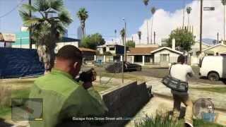 GTA V: Grove Street Gameplay