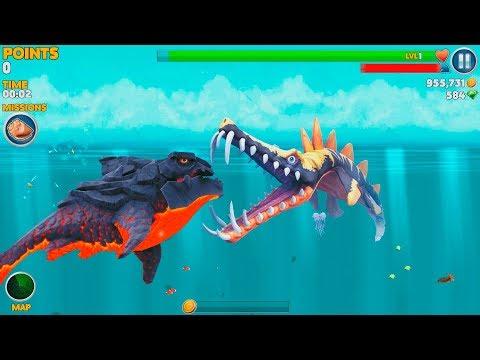 Hungry Shark Evolution Pyro Shark Android Gameplay #47
