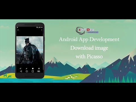 Android Development Tutorial - Download Image With Picasso And Save To Storage