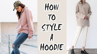 HOW TO STYLE A HOODIE | Outfit Ideas & Layering