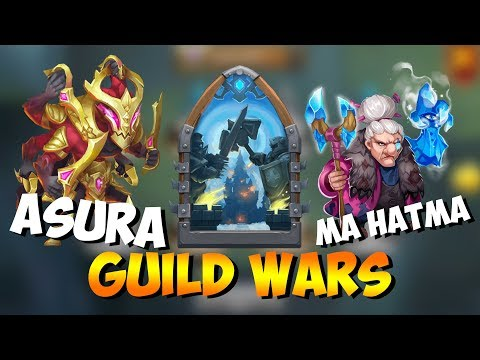 Ma Hatma & Asura: DEADLY Combo! Guild Wars Castle Clash