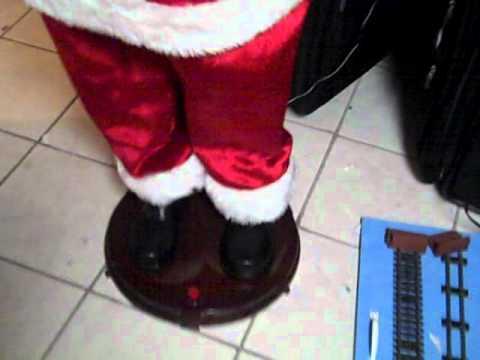 5 ft singing and dancing Santa Gemmy