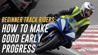 Beginner Track Rider Mistakes: 4 Areas for Good Early Progress