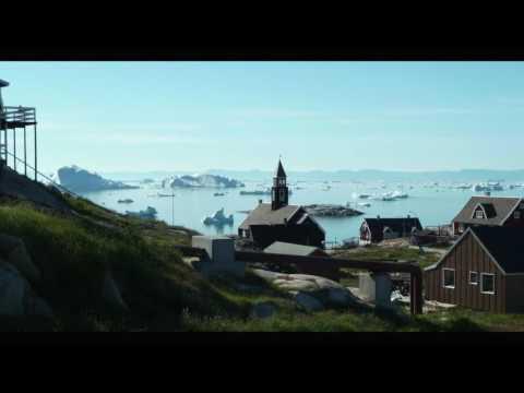 les icebergs de la baie de Disko - l'été au Groenland