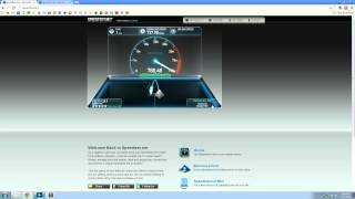 Fiber Fridays! Episode 1 - Google Fiber speed test on Speedtest.net.