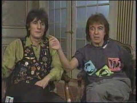 Ronnie Wood and Bill Wyman discuss Keith Richards