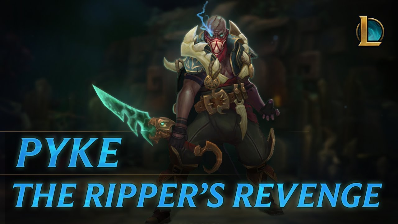 Pyke: The Ripper's Revenge | Champion Trailer - League of Legends