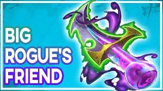 Hearthstone: Big Rogue's New Friend (Necrium Blade)