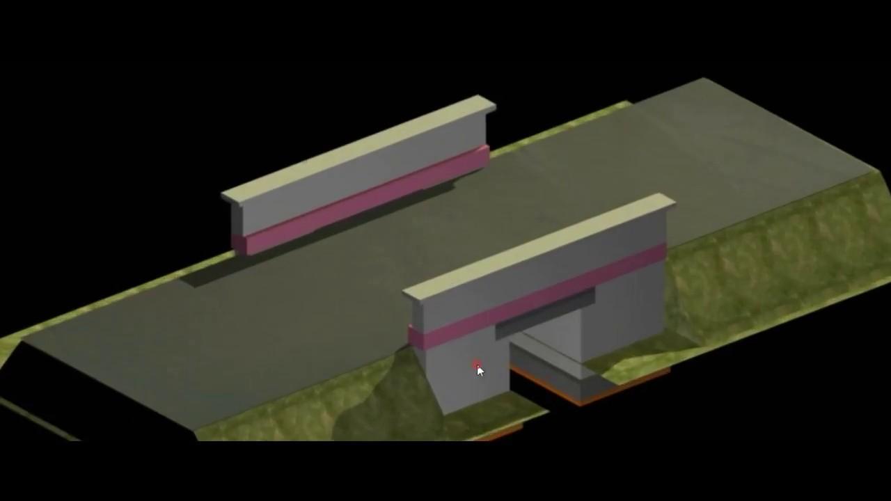 RCC SLAB CULVERT ( BOX TYPE)   CIVIL ENGINEERING DRAWINGS- II