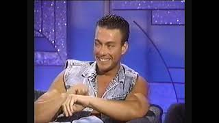 Jean-Claude Van Damme on the Arsenio Hall Show | Universal Soldier [1992]