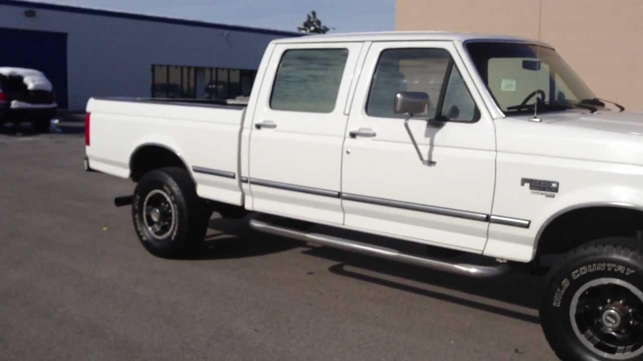 1997 Ford F250 Crew Cab 4x4 7 3 Powerstroke Turbo Diesel