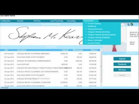 Core Banking and Microfinance software system