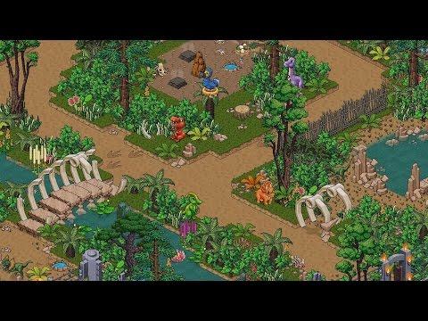 Habbo Dinosaur World!