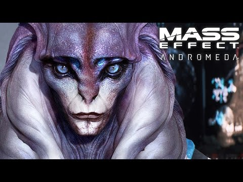 Mass Effect Andromeda : First Contact, New Alien Race : Gameplay Adventure #3