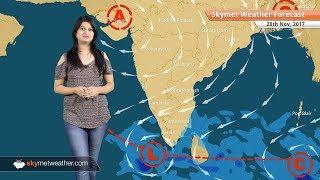 Weather Forecast for Nov 28: Rain in Chennai, Tamil Nadu, Kerala; Delhi Pollution to increase