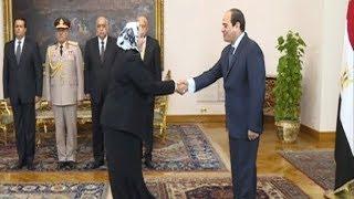 الرئيس السيسي يؤكد تقديره للدور المحوري الذي تقوم به المرأة المصرية في مختلف المجالات