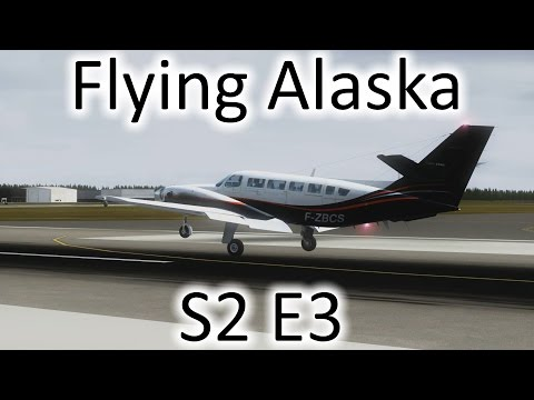 FSX | Flying Alaska S2 E3 - Gambell to Nome | Cessna F406