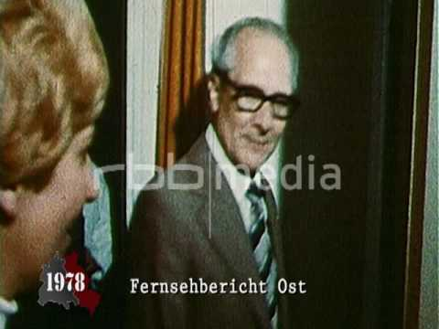 Honecker the estate agent in East Berlin 1978