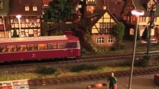 Meine Märklin Modellbahnanlage   My little Märklin model railway - H0 - HD