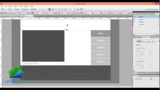 تصميم المواقع باستخدام برنامج Adobe Muse | أكاديمية الدارين | محاضرة 5