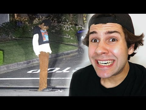 CAUGHT THIS MAN OUTSIDE MY HOUSE!! (FREAKOUT)