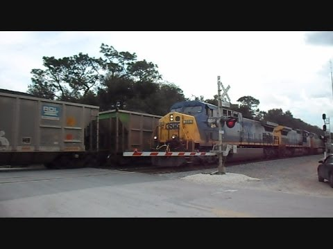 CSX Full Teco Coal Train Passes CSX Empty Teco Coal Train ...