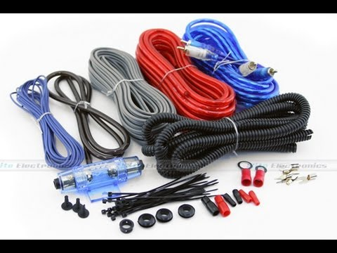 boss amplifier installation kit youtube rh youtube com Car Speaker Wiring Kit Ford Wiring Harness Kits