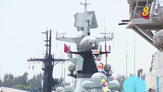 亚洲国际海事防务展登场 规模历来最大