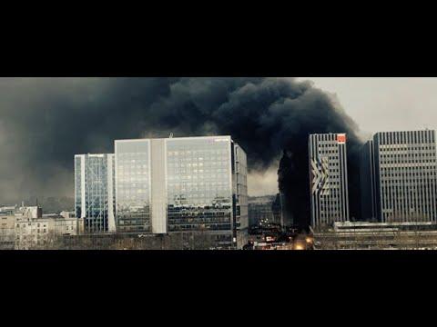 В Париже из-за столкновений вспыхнул пожар у Лионского вокзала