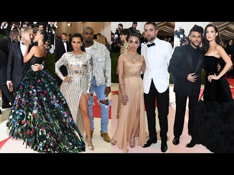 Best Dressed Celeb Couples at the 2016 Met Gala