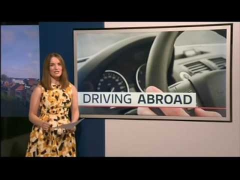 Some rules on driving abroad - Europe