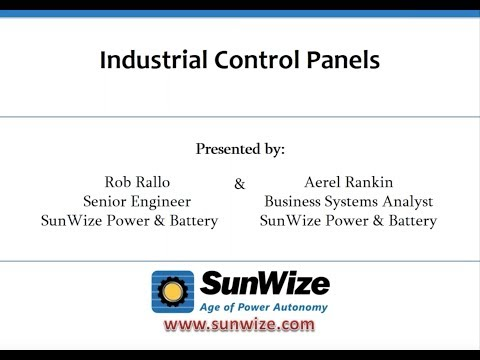 Industrial Control Panels for Solar Applications