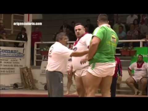 Lucha Canaria: Miguel Pérez - Añaterve Abreu