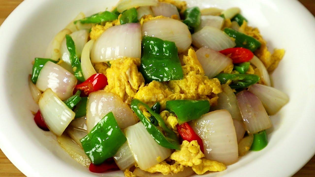 洋葱炒鸡蛋到底怎么做更好吃?下锅顺序很重要,很多人都做错了