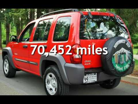 2004 jeep liberty sport 4dr sport 4x4 1 owner manual for sale in rh youtube com Horsepower 2004 Jeep Liberty Renegade Horsepower 2004 Jeep Liberty Renegade
