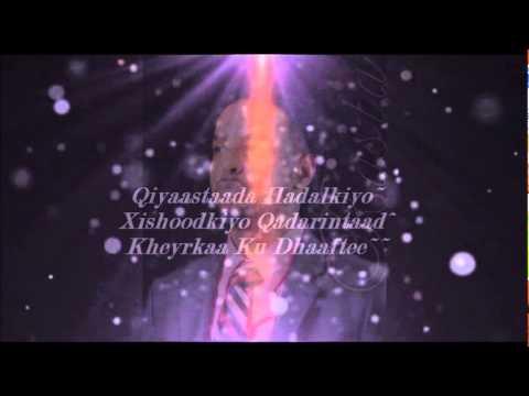 Ahmed Rasta 2012 waa inaan qorsheynaa official video