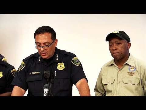 Houston Chief Gets Emotional Recalling Officer