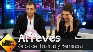 Ana Guerra 'canta' grandes éxitos al revés - El Hormiguero 3.0