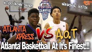 ATLANTA XPRESS VS. A.O.T | ATLANTA BASKETBALL AT IT'S FINEST #INDIHOOPS